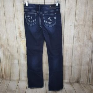 Silver Jeans Suki High Slim Boot Womens Size 29
